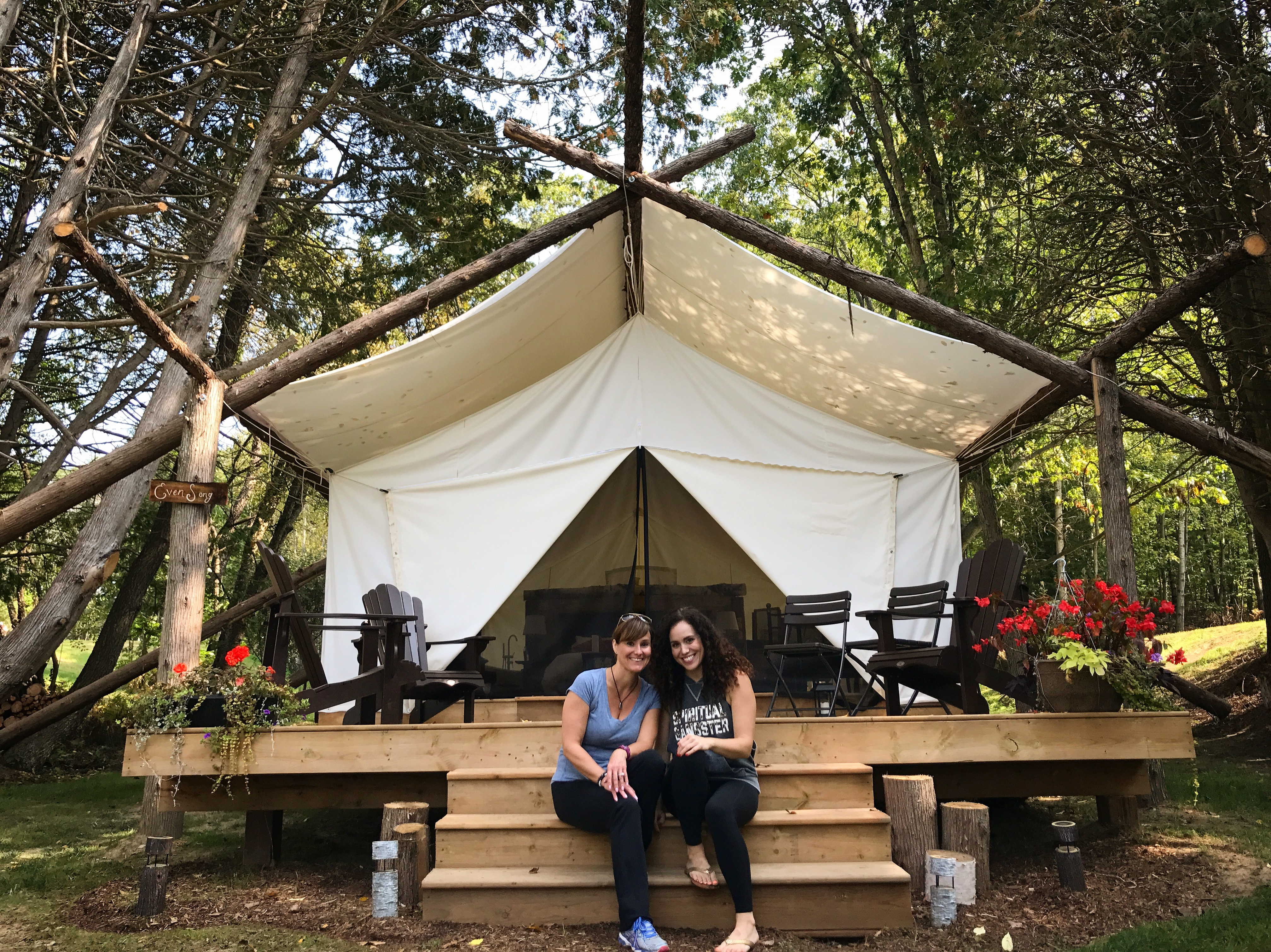 Glamping at Whispering Springs